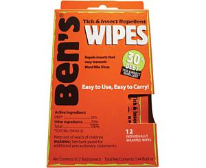 Ben's? 30 Wipes 12/box