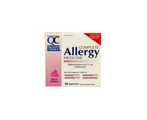 Allergy & Cold Antihistamine Medicine