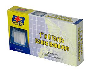 """Gauze Bandages, 1"""" x 6Yds."""