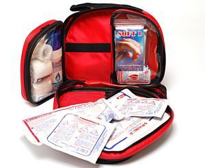 Essential Burn Kit in Nylon Bag w/ 3 inner pouches