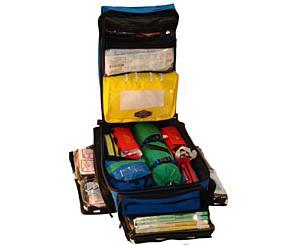 ALS Ultra Pack - Blue w/ Clear IV Bags