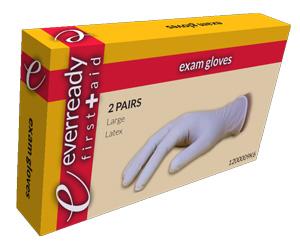 Exam Gloves, Latex, Kit Box