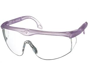 Colored Full-Frame Adjustable Eyewear, Frosted Lilac