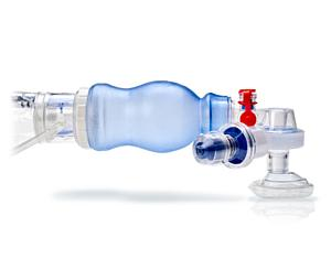 Lifesaver Manual BVM Respirator with Mask & Peep Valve, Case/6