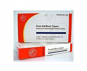 First Aid Burn Cream, 0.9 g, 6pcs/box