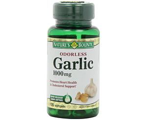 Odorless Garlic, 1000mg, 100 Softgels