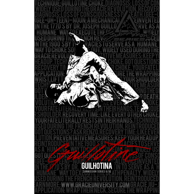 "Guillotine: Submission Series 6/10 Poster (11x17"")"