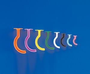Berman Oral Airway Set, Color Coded, 6 Pack