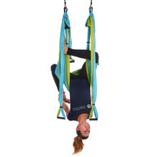 Gently Used Blue Yoga Trapeze