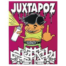 "Mike Giant - Juxtapoz ""Fuck You"""